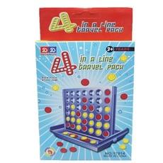 小四連棋 賓果 益智遊戲 桌遊 兒童遊戲 可訓練腦力和邏輯思考能力【CF122733】