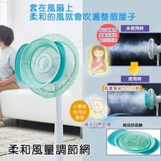 日本進口_柔和風量調節網