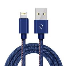 牛仔傳輸線 iPhone Micro USB 安卓 Type-C Lightning 快充線 充電線