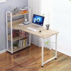 簡約風格層架收納工作桌/電腦桌/書桌