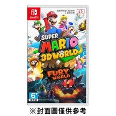 【普雷伊】超級瑪利歐 3D 世界 + 狂怒世界《中文版》