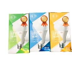 旭光 16W LED E27 綠能燈泡-(白光/自然光/黃光)