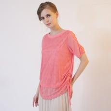 【Abbie】沁涼植蠶蕾絲訂製款上衣