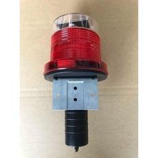 太陽能警示燈 保固一年 led警示燈 led燈座警示燈 閃光警示燈 太陽能燈 紅閃燈