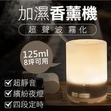 可裝次氯酸水【買主機送精油(隨機)】精油香薰機 LED加濕器 精油機 加濕器 小夜燈 水氧機 淨化機