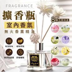 【Fragrance室內香薰精油擴香瓶50ml】除臭除味 擴香 芳香劑  擴香棒 香氛 精油