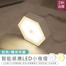 【智能感應小夜燈】小夜燈 LED燈 照明燈 感應燈 護眼燈 磁吸安裝 夜燈 床頭燈