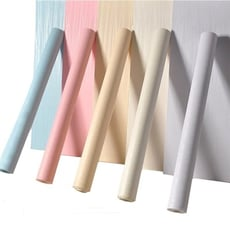 自黏PVC髮絲紋立體防水壁紙(5色)