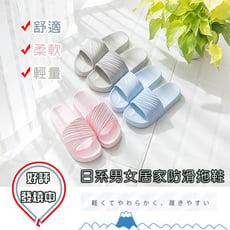 日系男女居家防滑拖鞋