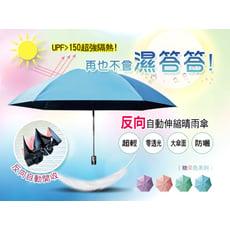 神美3代新款-反向自動伸縮晴雨傘