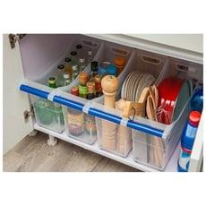 【新品上架】櫥櫃滑輪收納箱 多功能收納盒/單售