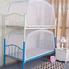 學生蚊帳 方頂蒙古包蚊帳1米宿舍上下鋪拉鏈蚊帳蒙古包蚊帳90/190/95