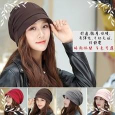四季帽韓版純棉小沿瘦臉女士八角帽子堆堆帽化療帽畫家帽漁夫時裝女帽