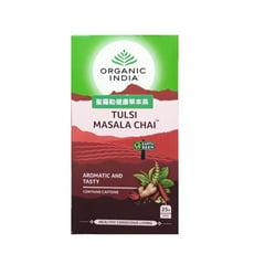 印度奶茶的基底瑪薩拉茶Masala chai_有機印度聖羅勒綜合辛香料茶 25包入(盒)
