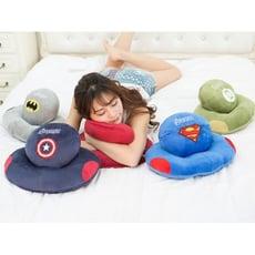 日系美國隊長超人蝙蝠俠午睡枕 辦公室趴睡枕 午睡神器 交換禮物
