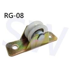 RG-08 塑膠製T型單滑輪紗窗輪 鋁窗輪 塑膠滑輪 塑膠滾輪 培林銅輪 紗門輪 鋁門輪 氣密窗輪