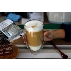 透明雙層隔熱玻璃杯(讓你咖啡更好喝)2款任選