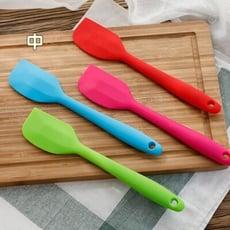 奶油刮刀 烘焙工具 耐高溫硅膠蛋糕一體式刮刀 面包餅干 攪拌奶油抹刀-中號
