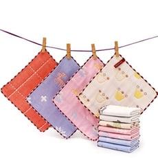 純棉六層紗布小方巾 紗布巾 純棉小方巾