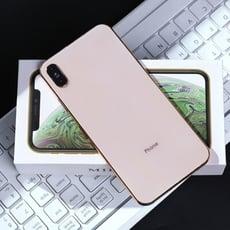 時尚手機造型隨身鏡 蘋果XS手機仿真隨身鏡 創意隨身便攜化妝鏡 公主鏡