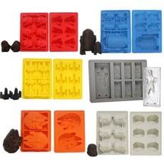 星際大戰創意矽膠冰塊盒 矽膠蛋糕模 手工皂模 巧克力模 製冰器 製冰盒 模型 DIY