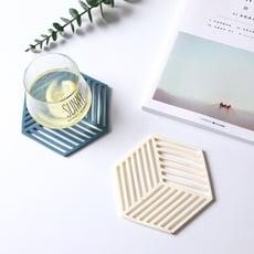 北歐風簍空隔熱墊 耐高溫矽膠 家用餐墊 杯墊 餐桌墊 防燙防滑 易清洗