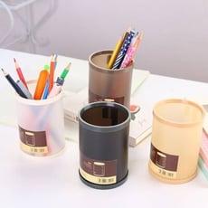 DIY 磨砂款筆筒 簡易組裝 收納盒 純色系 百搭款筆 置物