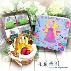 【原蔬糖彩】甜美花朵森林綜合蔬果脆片禮盒(全素口味)200g