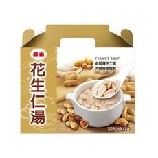 泰山 花生仁湯 (320g*12入*2/箱) 禮盒款