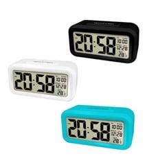 【HA410】KINYO光控聰明鐘TD-331 夜光鬧鐘 貪睡鬧鐘 電子鬧鐘溫度計 溫溼度計 公司貨