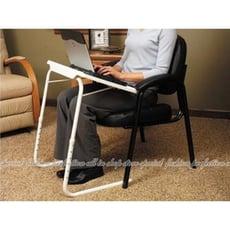 【DR426】升降筆記型電腦桌 可調高低角度.褶疊收納 床上床邊桌 書桌 兒童餐桌 折疊桌