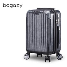 Bogazy 靜秘時光 25吋避震輪/防爆拉鍊/可加大行李箱