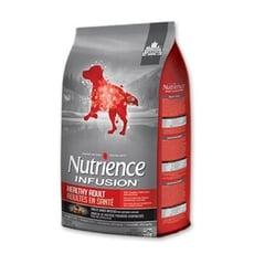 美國Nutrience紐崔斯《INFUSION天然成犬牛肉+豬肉》10KG/包 成犬適用