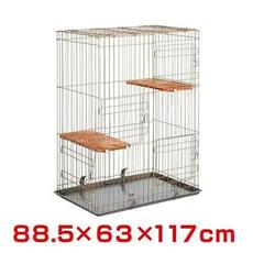 日本Marukan雙層貓籠CT-200四門電鍍材質,超大空間/大型貓籠