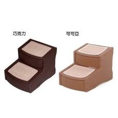 美國Pet Gear 寵物《PG9710 易步二階樓梯-小》止滑地墊材質堅固 (CH-巧克力/LC-