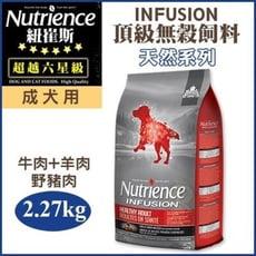 Nutrience 紐崔斯《INFUSION天然成犬-牛肉+豬肉》2.27KG/包