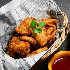 金黃酥炸土魠魚風味魚塊300g/包