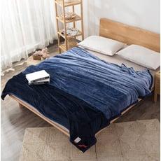 吸濕發熱保暖法蘭絨單雙人秋冬蓋毯