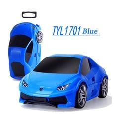 兒童拉桿行李箱 18寸汽車滑行旅行箱