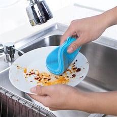 神奇矽膠洗碗刷菜瓜布(高耐溫 免洗劑)