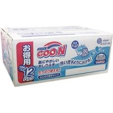 [日本公司貨] GOO.N 嬰兒護膚柔濕巾 日本大王 純水 寶寶 濕紙巾 手口用濕紙巾