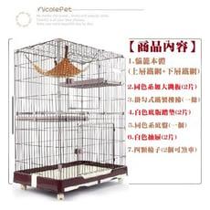 【妮可行銷】創逸CSN日式貓籠〈小號雙層1-2〉貓別墅