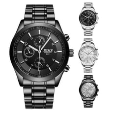 CPMAX 防水防爆仿三眼鈦鋼質感手錶 (四款任選) SW07