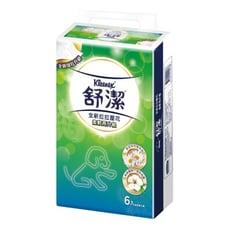 【預購】舒潔新升級拉拉抽取式衛生紙100+10抽*6包*10串/箱(60包/箱)