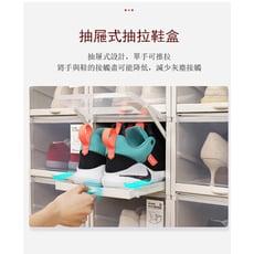【LadyMay】自動掀蓋組合式鞋盒 自動掀蓋收納盒 鞋櫃 運動鞋高跟鞋均可收納