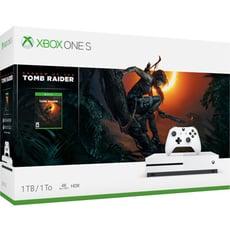【福利品】XBOX ONE S《古墓奇兵:暗影》1TB 同捆組