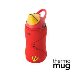 Thermo Mug【日本不鏽鋼動物水壺】-紅色大嘴鳥