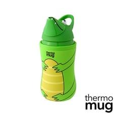 Thermo Mug【日本不鏽鋼動物水壺】-綠色鱷魚