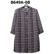 【非常衣著 Amor】細線格紋七分袖襯衫