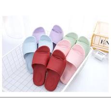 【1708】防滑耐磨一字居家拖鞋 室內 浴室 彈力 柔軟 涼拖鞋 情侶(多色可選/36-45)
